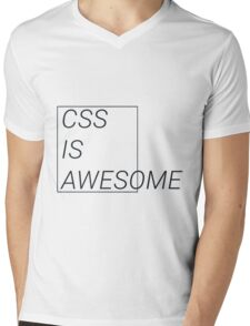 CSS at its best Mens V-Neck T-Shirt