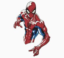 spiderman  One Piece - Short Sleeve