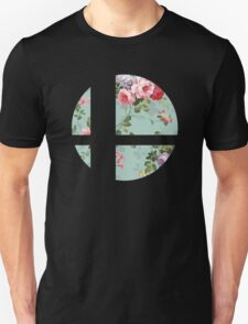 Super Smash Bros. Floral Unisex T-Shirt