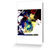 Primary paints Greeting Card