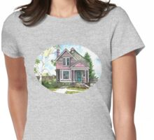 The Violet Lady in Spring Womens Fitted T-Shirt