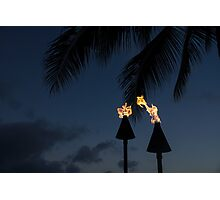 Of Tiki Torches, Palm Trees and Beach Parties Photographic Print