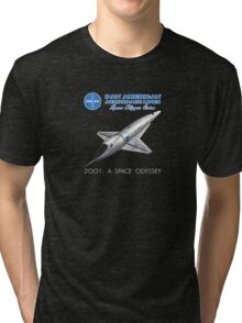 2001 A Space Odyssey Space Clipper Orion Tri-blend T-Shirt