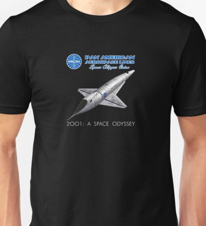 2001 A Space Odyssey Space Clipper Orion Unisex T-Shirt