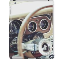 Classic Ford Mustang Dashboard iPad Case/Skin