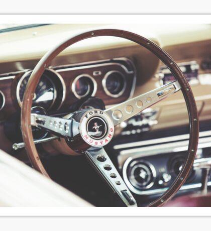 Ford Mustang Interior Sticker
