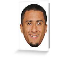 Colin Kaepernick Greeting Card