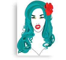 Adore Delano is a f*cking mermaid! Canvas Print