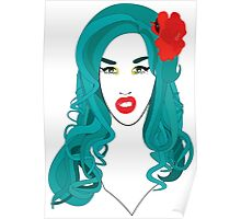 Adore Delano is a f*cking mermaid! Poster