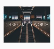 Three Empty Words One Piece - Long Sleeve