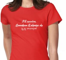 Vampire Diaries - Quote Womens Fitted T-Shirt