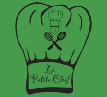 La Petite Chef - Jay Simpson Apparel - Cooking T-shirt Kids Tee