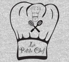 La Petite Chef - Jay Simpson Apparel - Cooking T-shirt One Piece - Long Sleeve