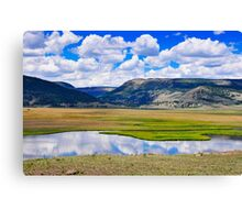 Valley of the Serpent Canvas Print