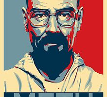 Breaking Bad - Walter White Obamized (METH) by WiseOut