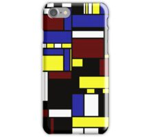 Incompleted rectangular floor plan 1 iPhone Case/Skin