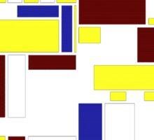 Incompleted rectangular floor plan 1 Sticker