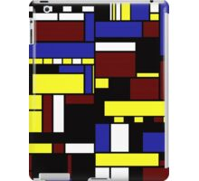 Incompleted rectangular floor plan 1 iPad Case/Skin