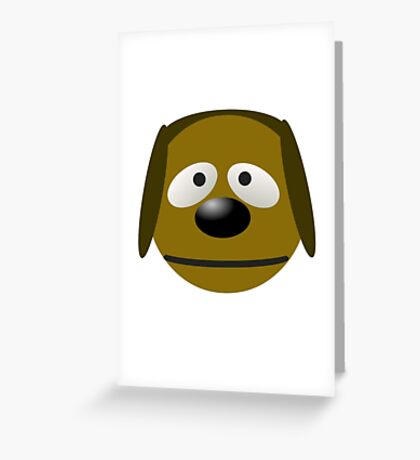 Rowlf Dog Greeting Card
