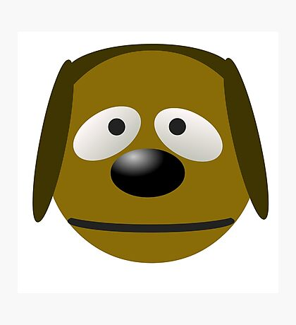 Rowlf Dog Photographic Print