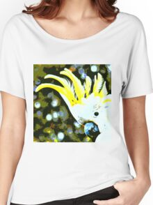Cockatoo in Melbourne Women's Relaxed Fit T-Shirt