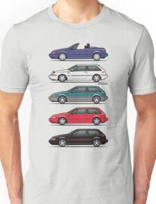 Stack of Volvo 480 Unisex T-Shirt