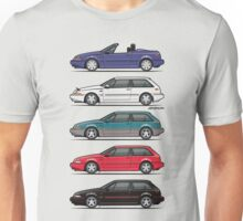Stack of Volvo 480 Unisex T-Shirt
