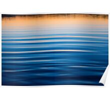 Blue Reflections Poster