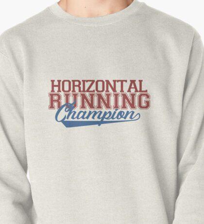 horizontal runner Pullover