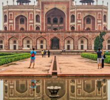 Humayun's Tomb in Delhi, India Sticker