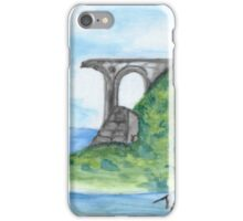 Irish Seaside Ruins iPhone Case/Skin