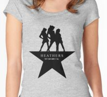 Heather, Heather, & Heather Women's Fitted Scoop T-Shirt