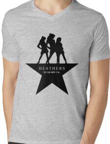 Heather, Heather, & Heather Mens V-Neck T-Shirt