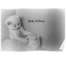 Reiki Kittens Poster