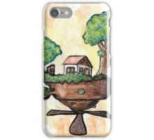 Floating Fantasy Cottage iPhone Case/Skin