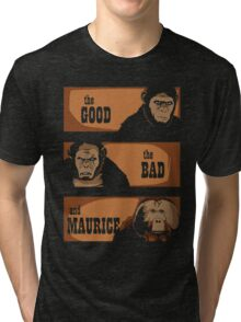 The good, the bad and Maurice Tri-blend T-Shirt