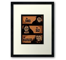 The good, the bad and Maurice Framed Print