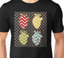 Four of Hearts Unisex T-Shirt