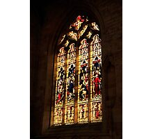 Stain Glass  Photographic Print