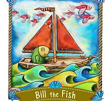Bill the Fish is your fishy FRIEND. by Brett  Curzon
