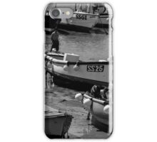 St. Ives harbour, Cornwall, UK iPhone Case/Skin