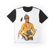 Hoo-Wan-Ne-Ka of The Winnebago Graphic T-Shirt