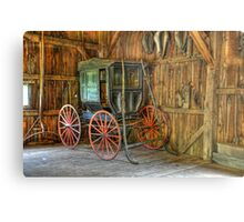 Wagon lost in storage Metal Print