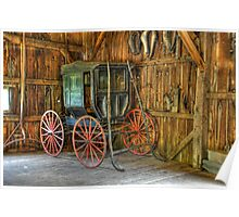Wagon lost in storage Poster