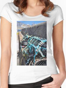 Fishing nets Women's Fitted Scoop T-Shirt