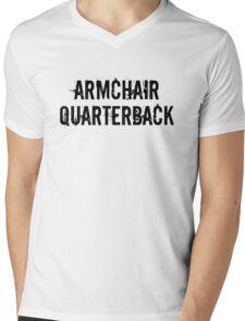 Armchair Quarterback Mens V-Neck T-Shirt