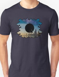 Quindustries R&D Logo City to Space Unisex T-Shirt