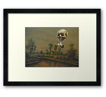 Travelling Ghost Framed Print