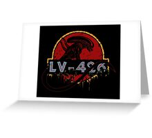 LV-426 Greeting Card