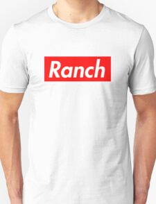 Ranch - Red - Eric Andre - Supreme font Unisex T-Shirt
